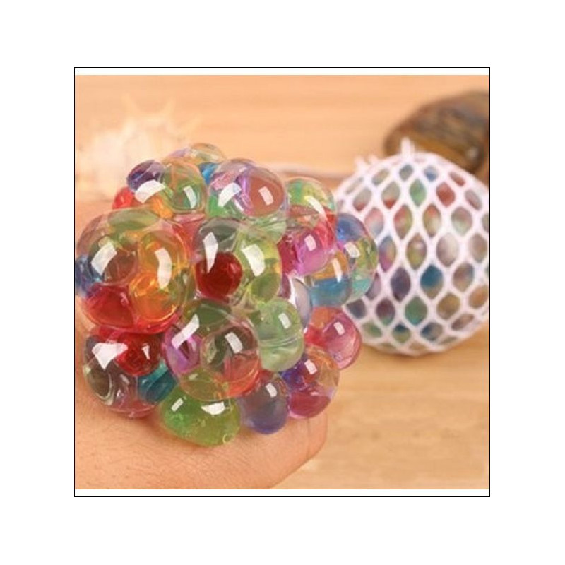 BALLE SQUEEZE ANTI STRESS CRISTAL